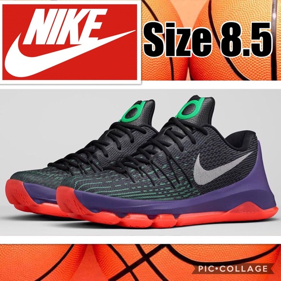 the best attitude b999d 07cef Nike KD 8 Vinary Basketball Shoes Size 8.5
